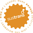 Sustrans Bronze Mark Logo